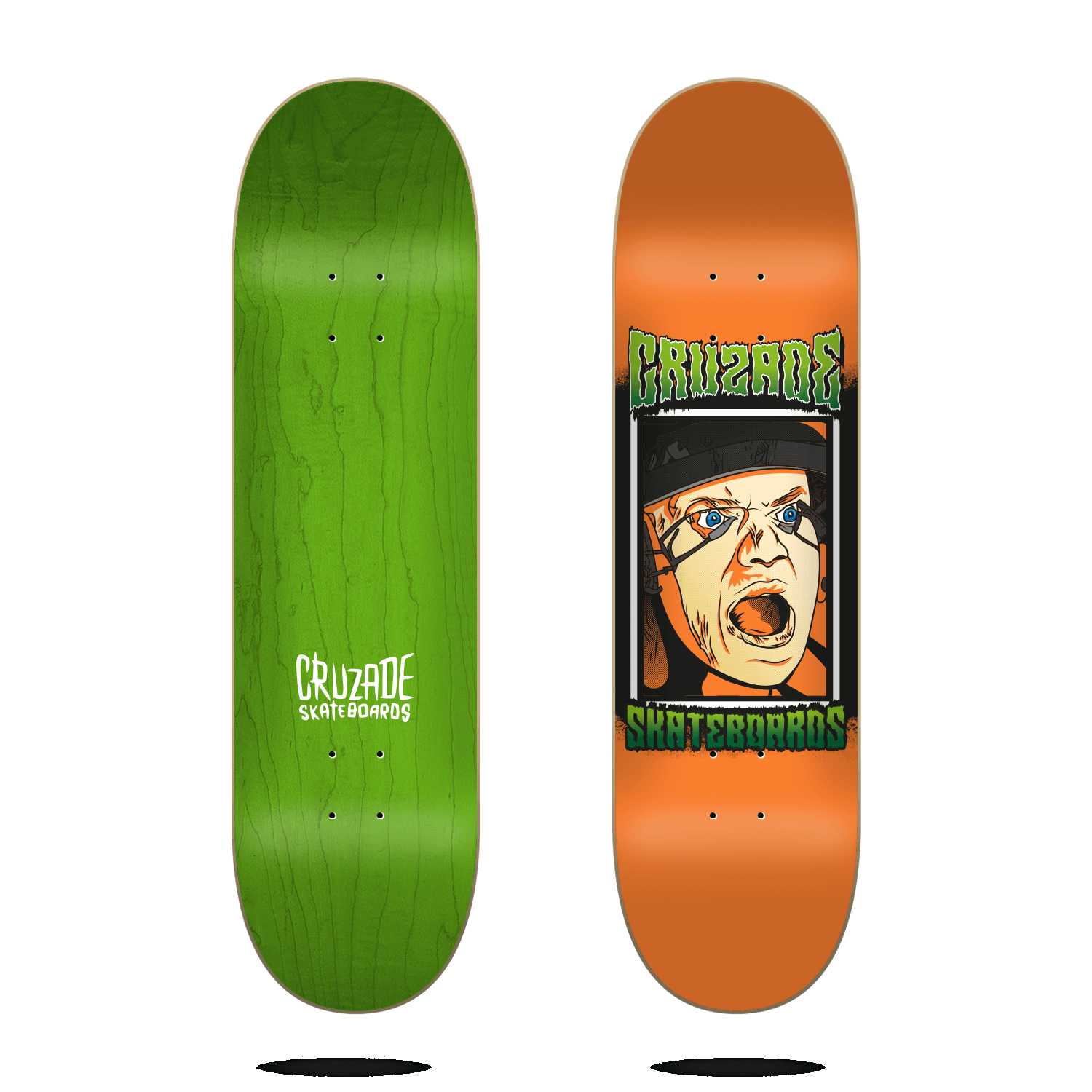 "Cruzade Face 8.0"" deck"