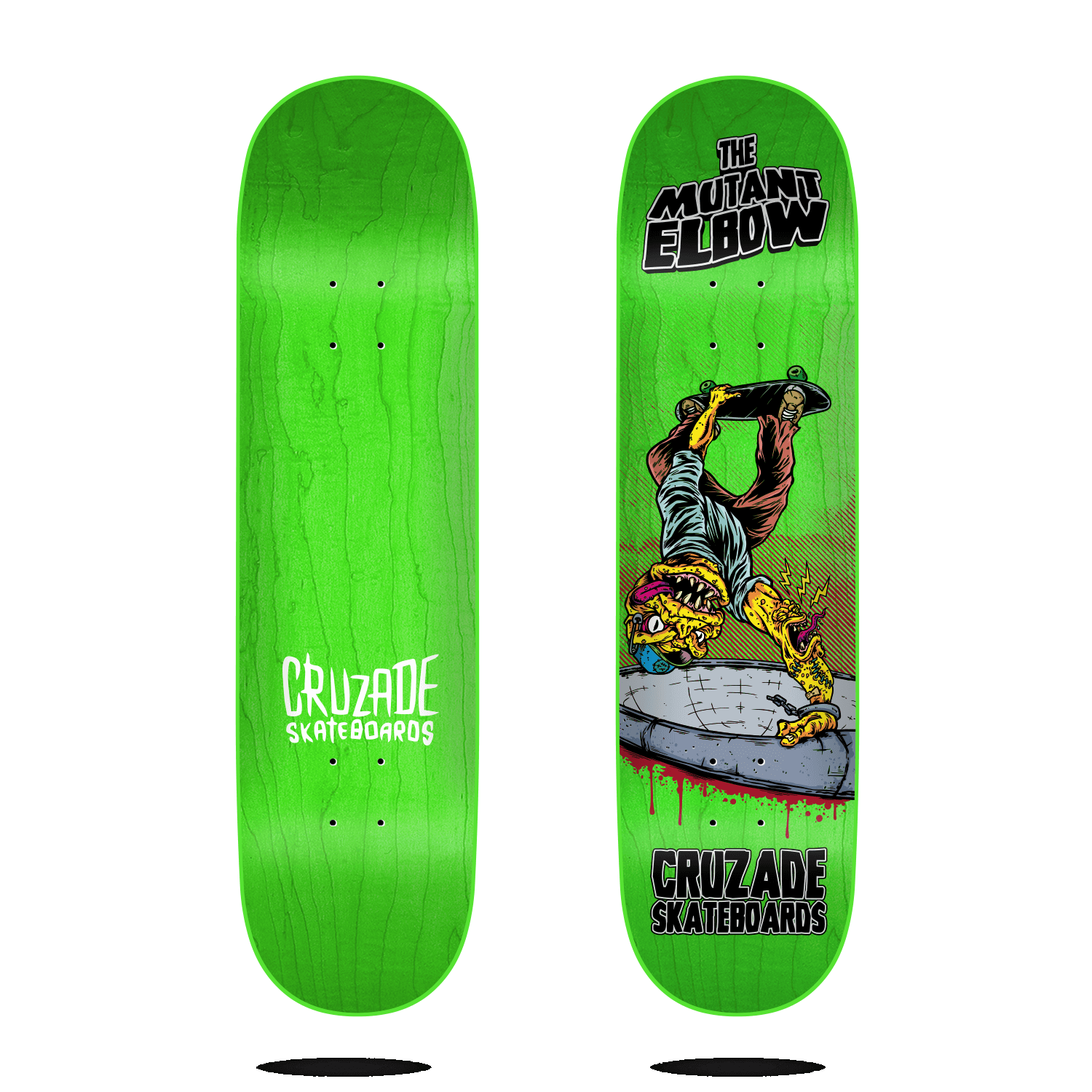 "Cruzade The Mutant Elbow 8.5"" Deck"
