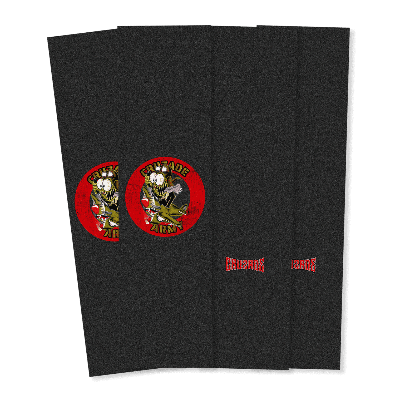 "Cruzade Logo 9"" griptape 4 pack"